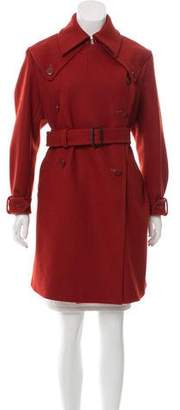 United Bamboo Wool Knee-Length Coat