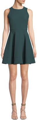 Cinq à Sept Elizabeth Sleeveless Flounce Mini Dress
