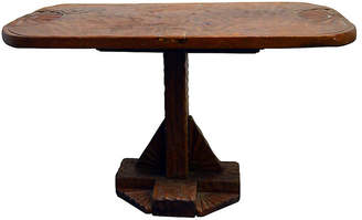 One Kings Lane Vintage Antique Carved Indonesian Coffee Table