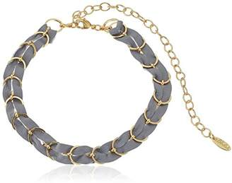 Ettika Punk Pony in and Gold Choker Necklace