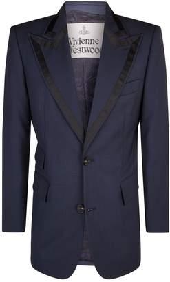 Vivienne Westwood Winston Contrast Lapel Jacket