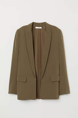 H&M Straight-cut Jacket - Green