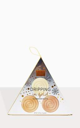 PrettyLittleThing Laura Geller Dripping in Gold Illuminator Christmas Palette