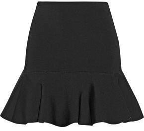 Issa Arabella Fluted Woven Mini Skirt