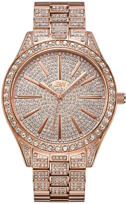 JBW Women's J6346B Cristal 0.12 ctw 18k rose -plated stainless-steel Diamond Watch