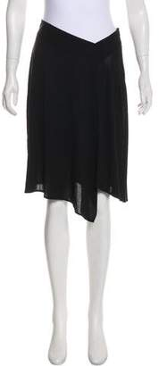 Paul & Joe Silk Knee-Length Skirt