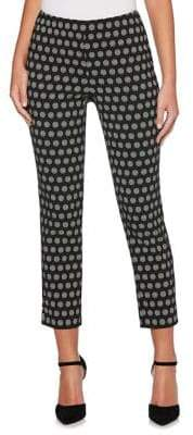 Rafaella Printed Cropped Trousers