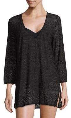 Kate Spade Lace V-Neck Coverup Tunic