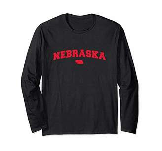 Nebraska Retro Look Design T-Shirt