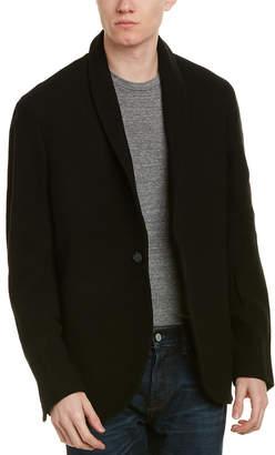 James Perse Twill Wool-Blend Blazer