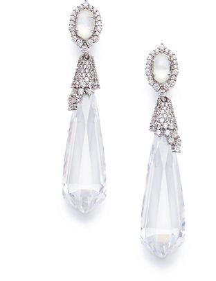 Kendra Scott Faye Crystal Statement Earrings