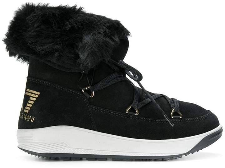 Ea7 Emporio Armani snow boots