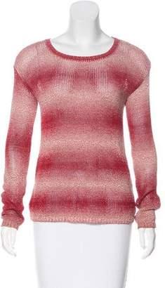 Alice + Olivia Long Sleeve Open Knit Sweater