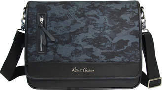 Robert Graham Blue Larkman Camo Laptop Messenger Bag