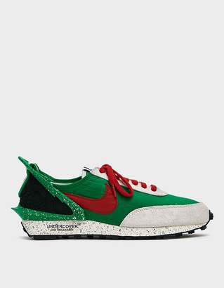 Nike Undercover Daybreak Sneaker in Lucky Green/University Red