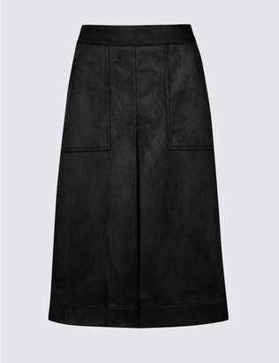 Marks and Spencer A-Line Midi Skirt