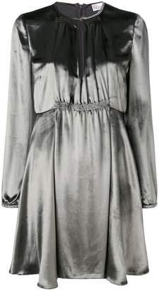 RED Valentino short metallic dress