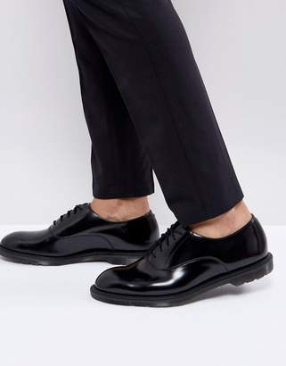 Dr. Martens Henley Oxford Shoes In Black