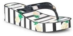 Kate Spade Remmie Striped Flip-Flops