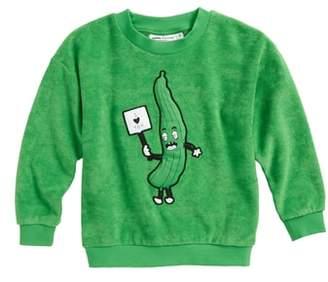 Mini Rodini Cucumber Terry Sweatshirt