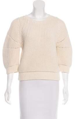 3.1 Phillip Lim Rib-Knit Long Sleeve Sweater