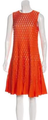 Christian Dior Sleeveless Knee-length Dress