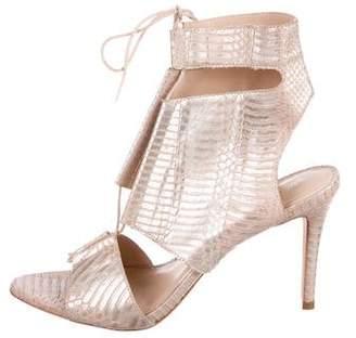 Loeffler Randall Scarlet Lace-Up Sandals