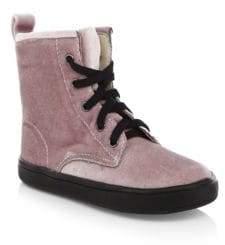 Old Soles Baby's& Kid's Velvy Swag Velvet Boots