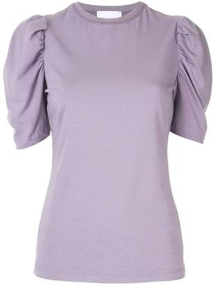 Alice McCall gathered sleeve T-shirt