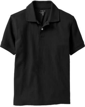 Old Navy Pique Uniform Polo for Boys