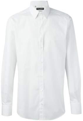 Dolce & Gabbana embroidered logo shirt