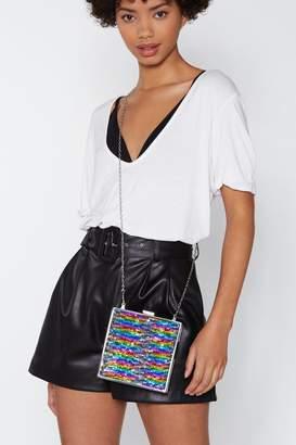 Nasty Gal WANT For Box Sake Sequin Bag