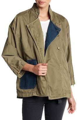 Current/Elliott The Double Placket Jacket