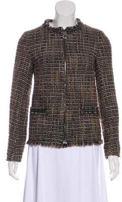 Max Mara 'S Tweed Wool Jacket