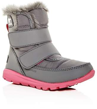 Sorel Girls' Whitney Waterproof Cold Weather-Boots - Toddler, Little Kid