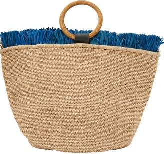 Aranaz Carisse tote bag with fringes