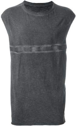 Isaac Sellam Experience stitch print relaxed fit tank top