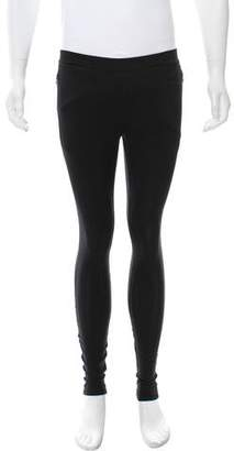 Givenchy Flat Front Cropped Leggings