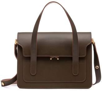 Marni Trunk Smooth-leather Handbag