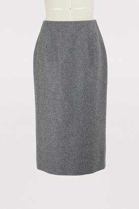 Thom Browne Wool pencil skirt