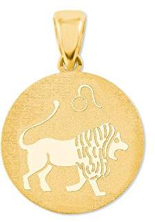 Amor Women Yellow Gold Coin Pendant - 2020795