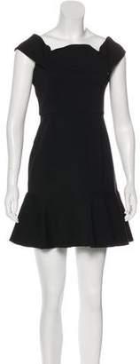 Nicholas Off-The-Shoulder Mini Dress w/ Tags