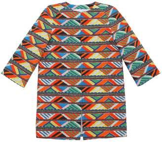 Stella Jean Maasai Print Poplin Cotton Coat