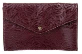 Diane von Furstenberg Leather Envelope Pouch w/ Tags