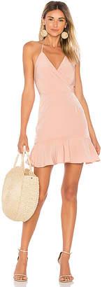 Donna Mizani Avery Ruffle Dress
