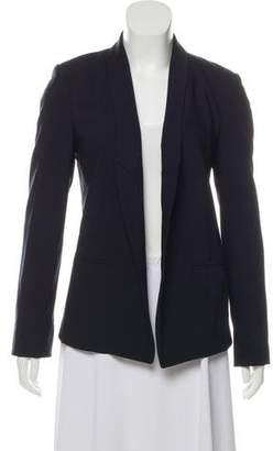 MICHAEL Michael Kors Wool Open-Front Blazer