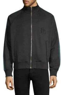 The Kooples Stretch Zip-Up Jacket