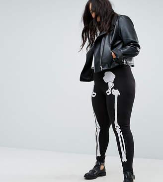 Asos HALLOWEEN Leggings with Skeleton Print