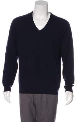 Givenchy Wool-Blend V-Neck Sweater