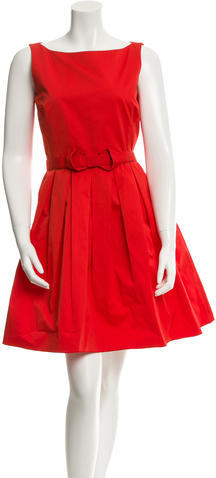 Max Mara MaxMara Cutout Belted Dress
